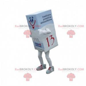 Maskottchen Riesenpapier Ries. Gummimaskottchen - Redbrokoly.com