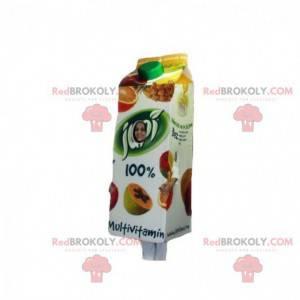 Obří ovocný džus cihlový maskot - Redbrokoly.com