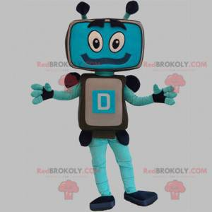 Maskotka robota komputerowego ekranu telewizora - Redbrokoly.com