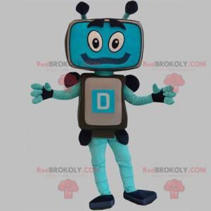 TV-Bildschirm Computer Roboter Maskottchen - Redbrokoly.com