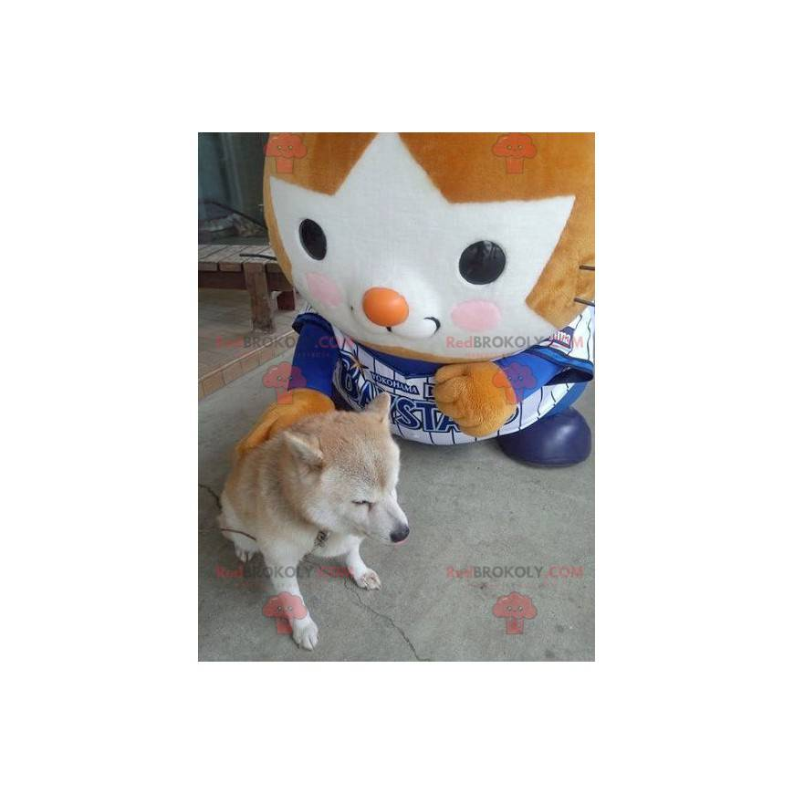 Orange and white T'choupi mascot - Redbrokoly.com