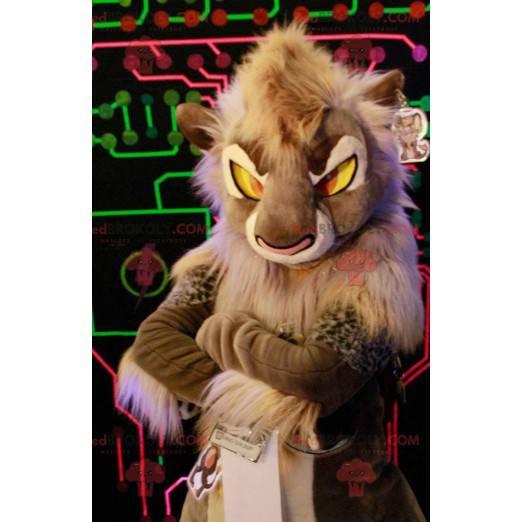 Beautiful lion lion mascot Jedi way - Redbrokoly.com