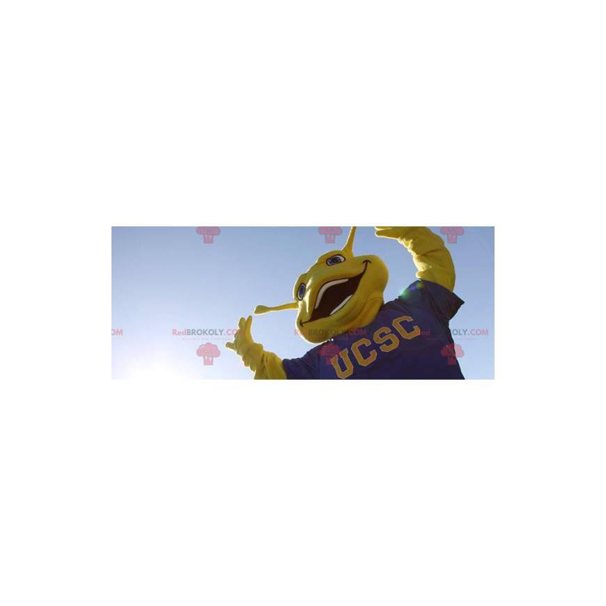 Velký žlutý hmyz maskot - Redbrokoly.com