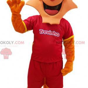 Tiger mascot of the brand Trevinho dairy yogurts -
