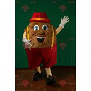 Riesenkartoffelmaskottchen. Kartoffelmaskottchen -