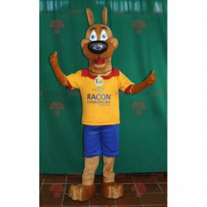 Scoobi Doo beroemde cartoon hond mascotte - Redbrokoly.com