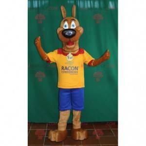 Scoobi Doo famoso mascote do cão dos desenhos animados -