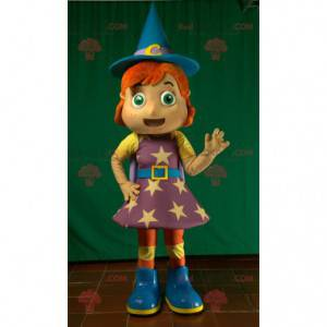 Mascote feiticeira feiticeira e fada - Redbrokoly.com