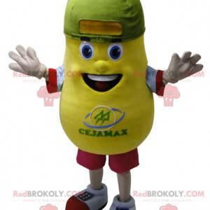 Maskotka gigantyczny żółty ziemniak. Maskotka ziemniaków -