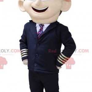 Airplane pilot mascot. Airline pilot mascot - Redbrokoly.com