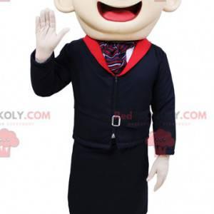 Velmi usměvavý maskot letušky - Redbrokoly.com