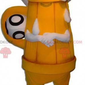 Giant beer keg mascot. Brewery mascot - Redbrokoly.com