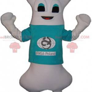Very original giant white bone mascot - Redbrokoly.com