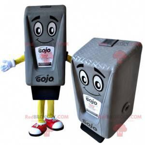Maskot obří šedé inkoustové kazety - Redbrokoly.com