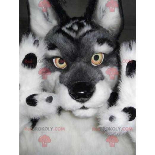 Alles haarige Wolfshund Maskottchen - Redbrokoly.com