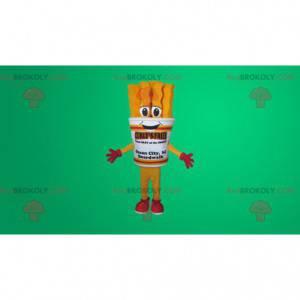 Mascot giant fries cone - Redbrokoly.com