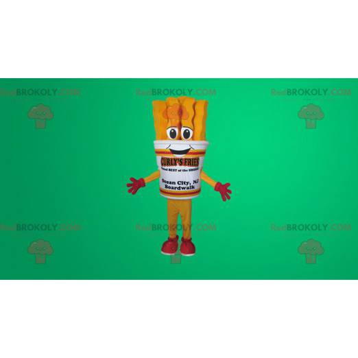 Maskottchen Riesen Pommes Kegel - Redbrokoly.com