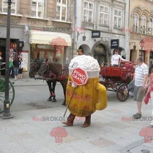 Riesiges Bierglas Pint Maskottchen - Redbrokoly.com