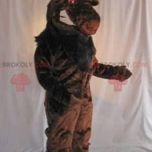 Brązowa maskotka łosia karibu - Redbrokoly.com
