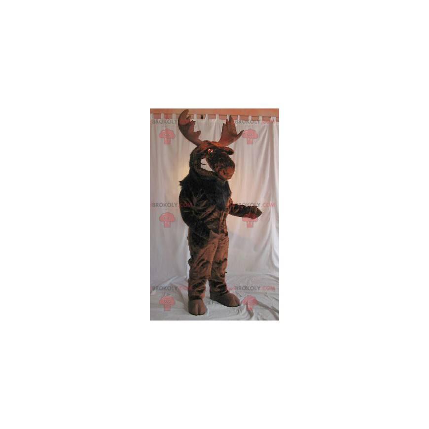 Hnědý maskot losí karibu - Redbrokoly.com