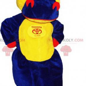 Obří a zábavný barevný maskot krokodýla - Redbrokoly.com