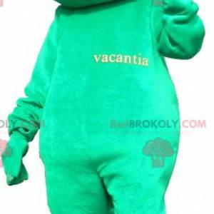 Obří a zábavný maskot zelená žába - Redbrokoly.com