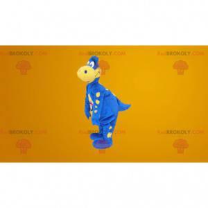 Slavný modrý drak maskot - kostým Danone - Redbrokoly.com