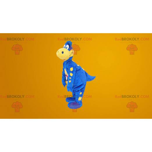 Słynna maskotka niebieski smok - kostium Danone - Redbrokoly.com