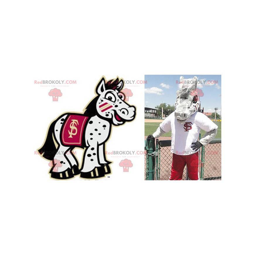 Obří šedý kůň osel maskot - Redbrokoly.com