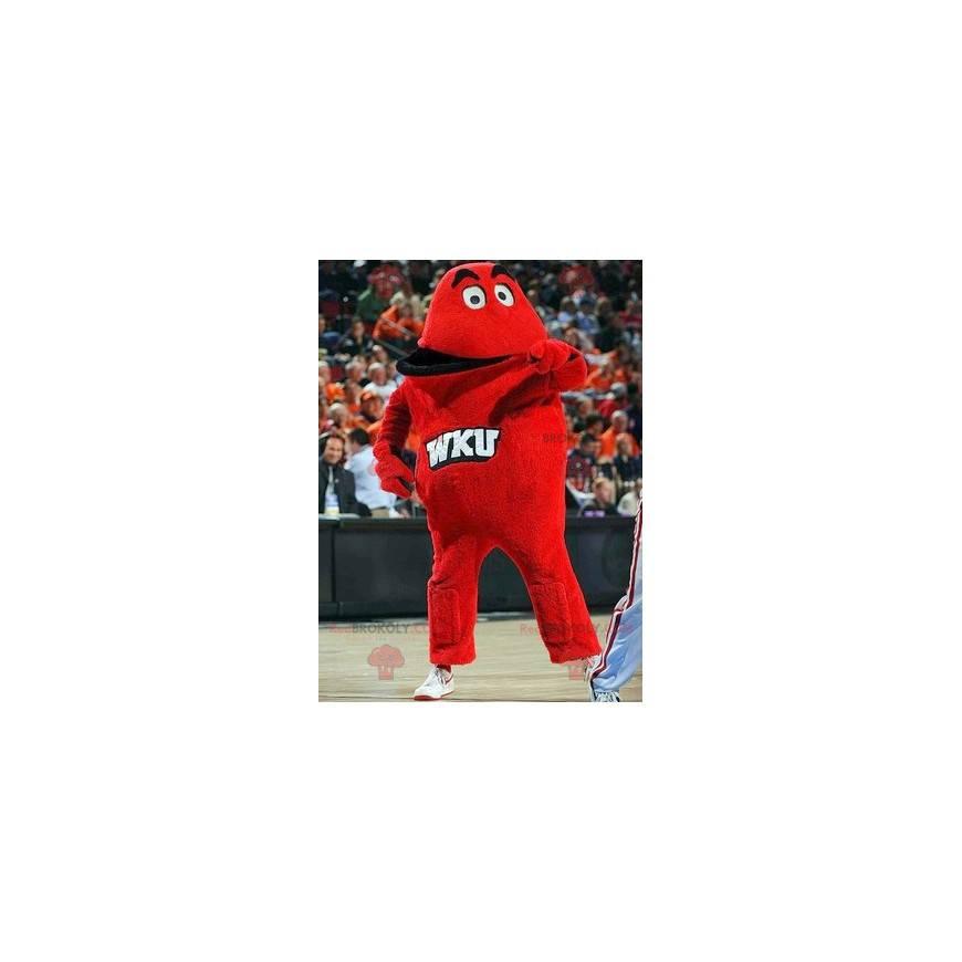 Maskot obří červené monstrum - Redbrokoly.com