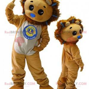 2 maskoti. Maskoti lev a lvíče - Redbrokoly.com