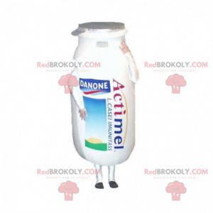 Actimel Danone milk drink bottle mascot - Redbrokoly.com