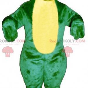 Grønn og gul froskmaskott - Redbrokoly.com
