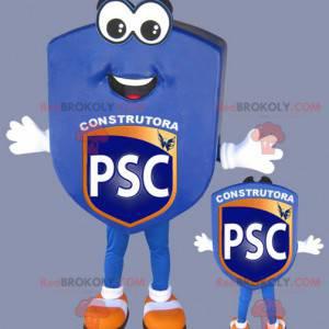Sportovní klub modrý znak maskot - Redbrokoly.com