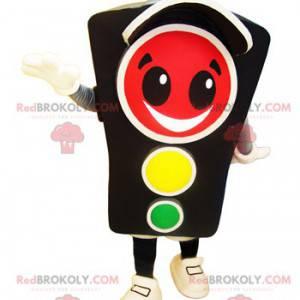 Traffic light mascot smiling green light mascot - Redbrokoly.com