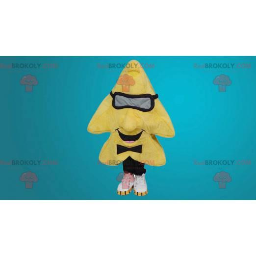 Giant yellow star mascot - Redbrokoly.com