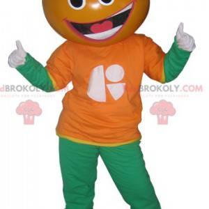 Mandarinka clementine oranžový maskot - Redbrokoly.com