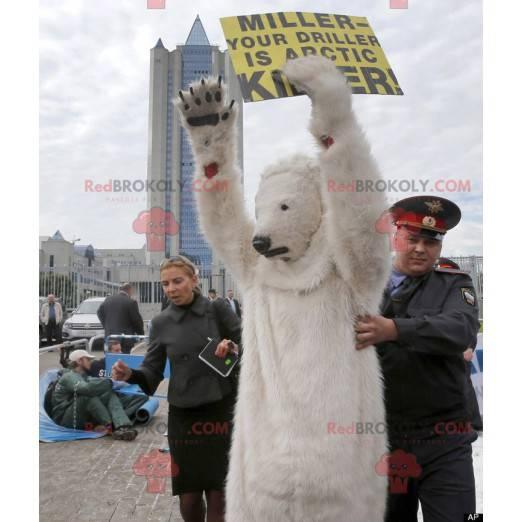 Eisbär Maskottchen Eisbär - Redbrokoly.com