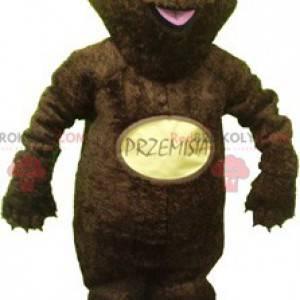 Medvěd hnědý maskot. Maskot medvěd grizzly - Redbrokoly.com