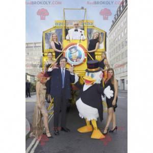 Maskot obří kachny Donald Duck - Redbrokoly.com
