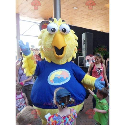 Giant yellow chick bird mascot - Redbrokoly.com