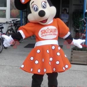 Maskot slavná myš Disney Minnie. Disney kostým - Redbrokoly.com