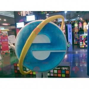 Počítačový maskot aplikace Internet Explorer - Redbrokoly.com