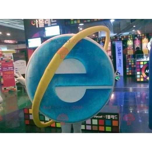 Internet Explorer Computermaskottchen - Redbrokoly.com