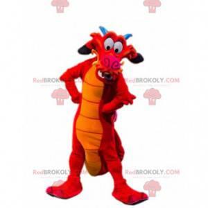 Mushu famous dragon mascot from the cartoon Mulan -