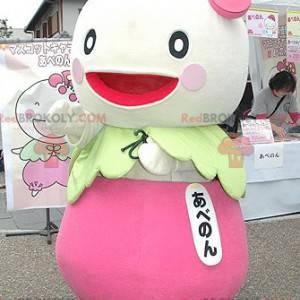 Japonský znak ředkvičky tuřín maskot - Redbrokoly.com