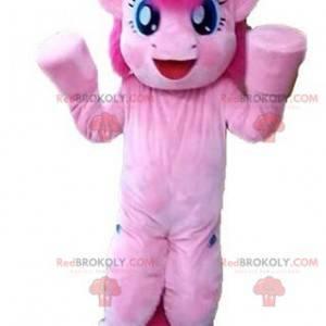 Obří a velmi pěkný maskot růžového poníka - Redbrokoly.com