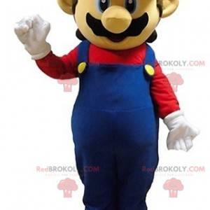 Mario maskot slavná postava videohry - Redbrokoly.com