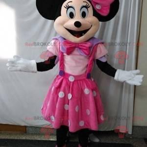 Mascot Minnie famoso ratón de Disney. Disfraz de Disney -