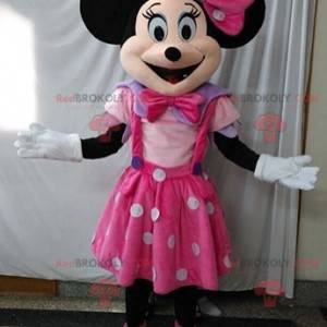 Maskottchen Minnie berühmte Disney-Maus. Disney Kostüm -